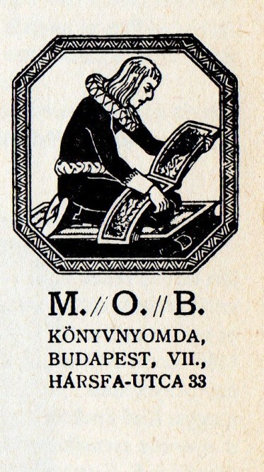 MOB, a magyarországi baptisták nyomdája
