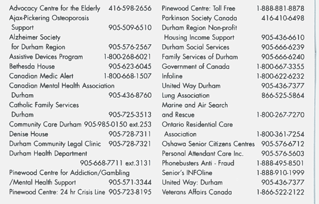 NON EMERGENCY NUMBERS