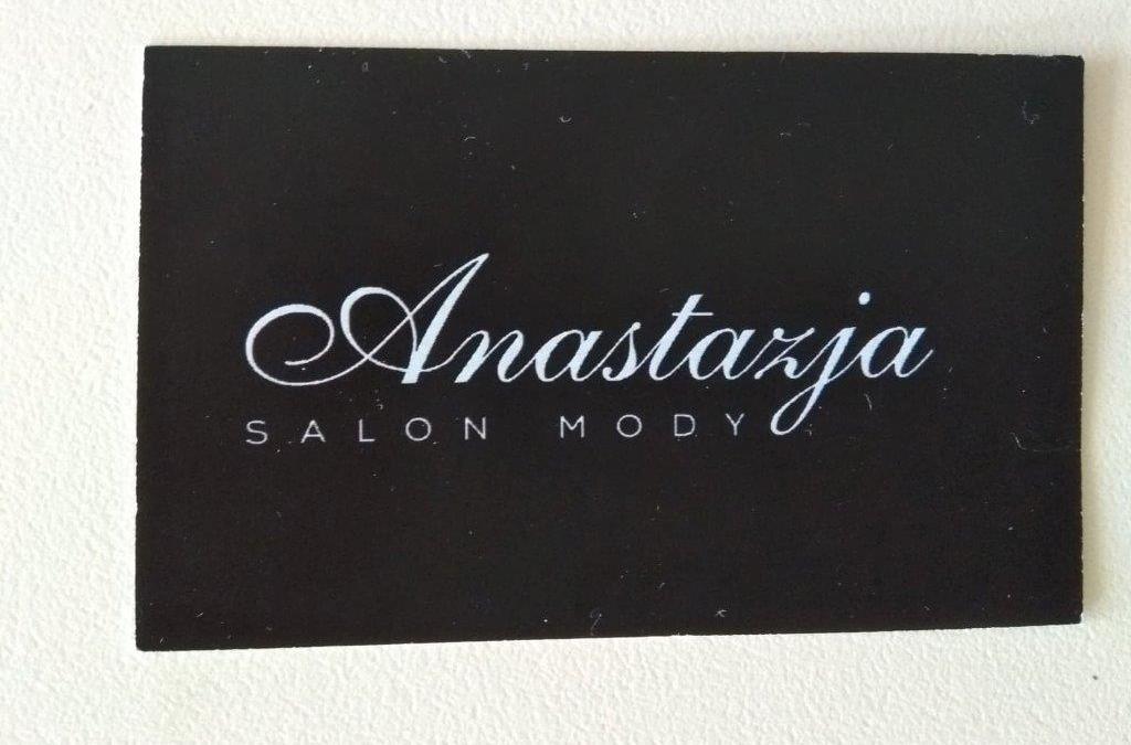 Z całego serca dziękujemy – Salon Mody Anastazja.
