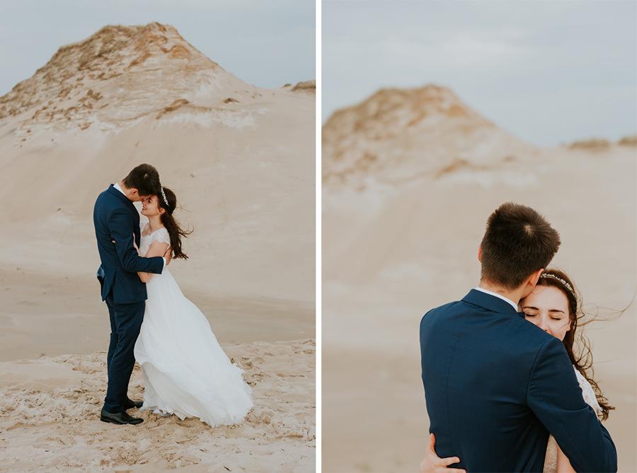 zdjęcia na ślub wydmy
