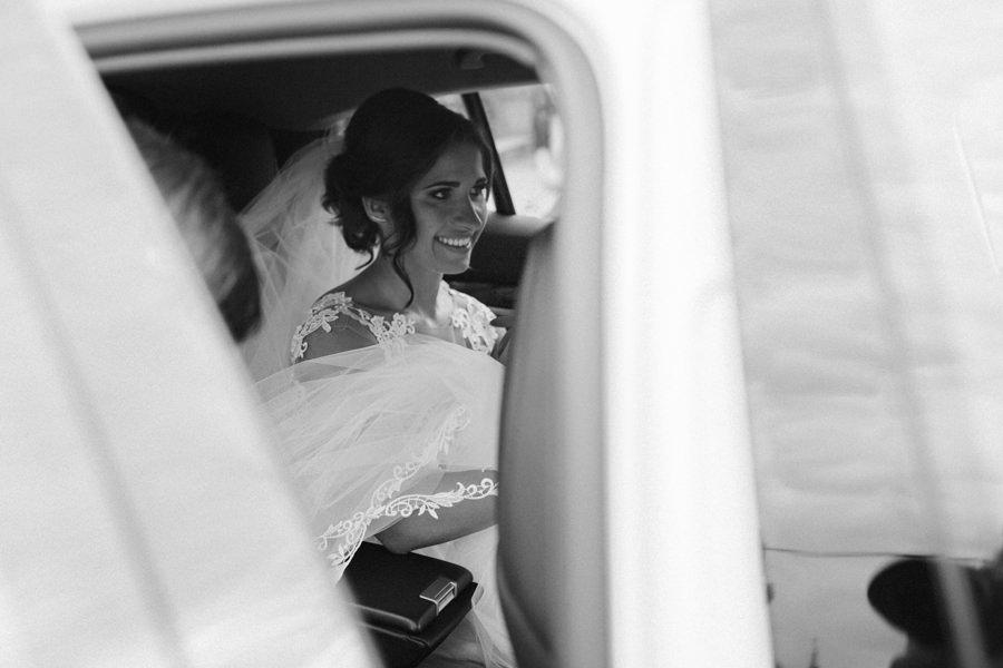 czarnobiała fotografia ślubna