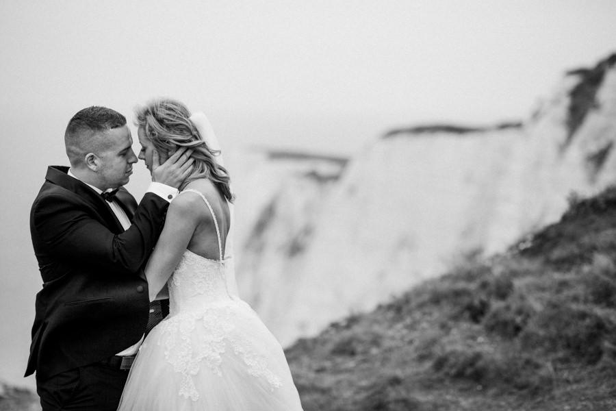 sesja poślubna na seven sisters cliffs