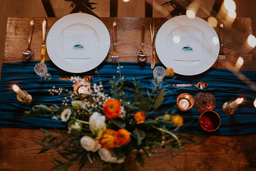 dekoracja stołu wesele