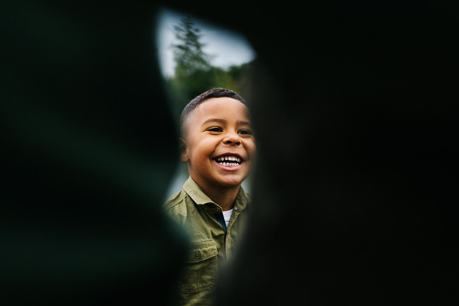 uśmiech dziecka fotografia