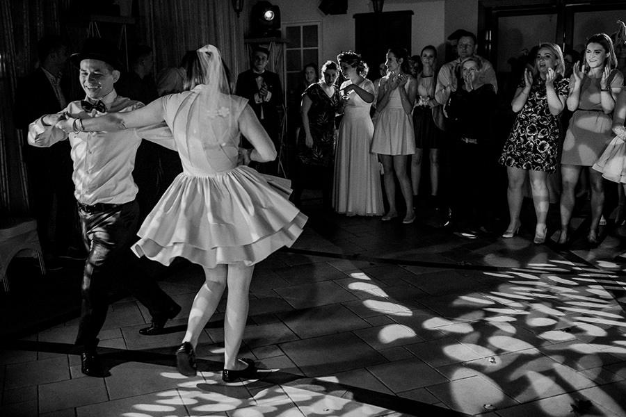 taniec oczepinowy zabawy