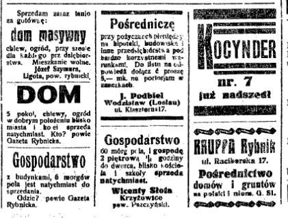 posrednicy 1922 rok