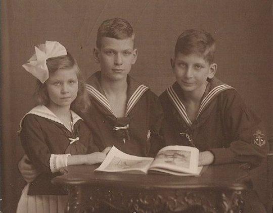Ernst, Rudolf i Charlotta Haase
