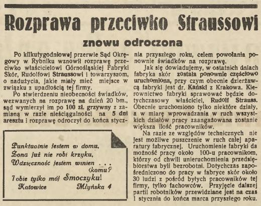 7 groszy 22.12.1938 Strauss 1