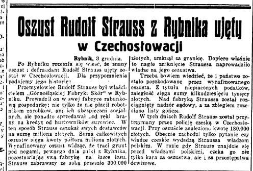 Polska Zachodnia 3.12.1937