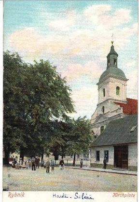 Rybnik Kirchplatz