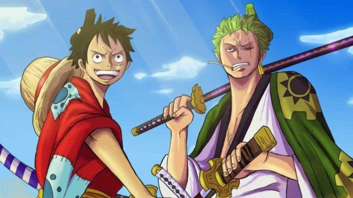 On the cover of chapter 937, zoro was seen reading a map featuring a sword and the word enma. Spoiler One Piece Chapter 1002 Big Mom Gagal Serang Luffy Kaido Sadar Ada Oden Di Pedang Enma Zoro Tribunnewswiki Com Mobile