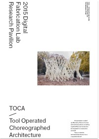 Draft of Cover of TOCA Pavilion Book