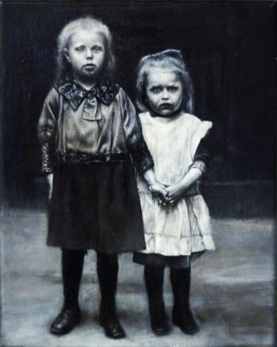 2011, Öl auf Leinwand, 30 x 24 cm. Foto: Nils Franke