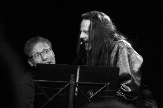 Sebastian Böttcher und Oswald Henke