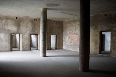 Obergeschoss des ehemaligen Wehrmachtsgefängnisses Anklam