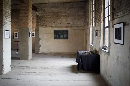 In der Kapelle fand auch die Fotoausstellung statt.