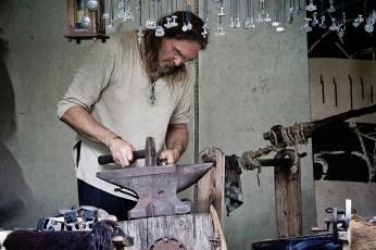 Schmiedeeiserne Handwerkskunst