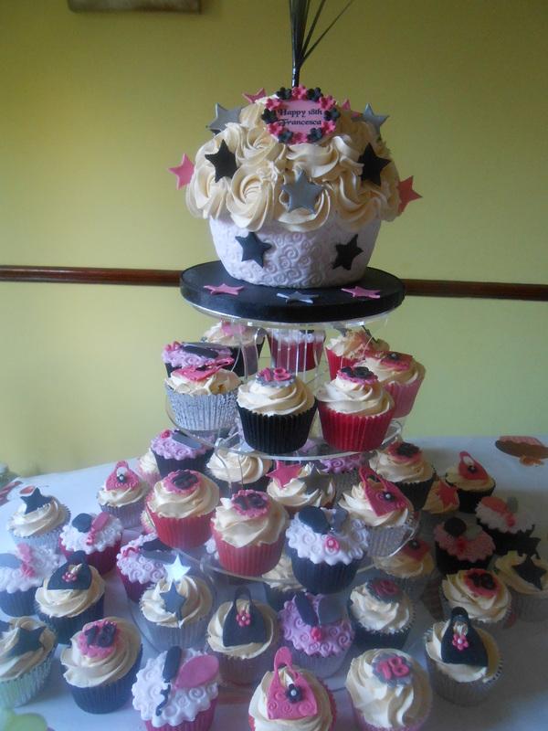 18th Birthday Cupcakes Tracys T Cakes