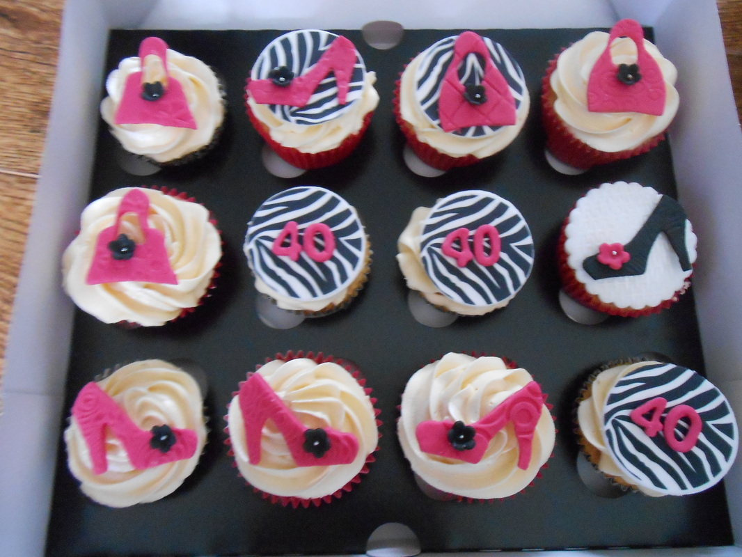 40th Birthday Cake Cupcake Ideas Of Reference