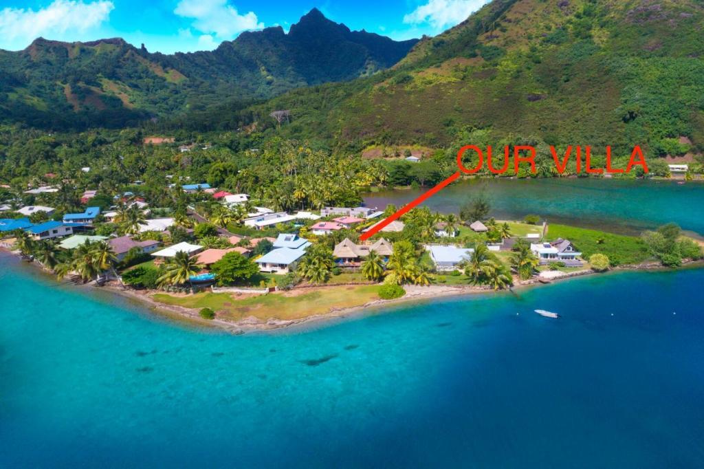 Villa Blue Lagoon Moorea Polinesia Francese Papetoai  Bookingcom