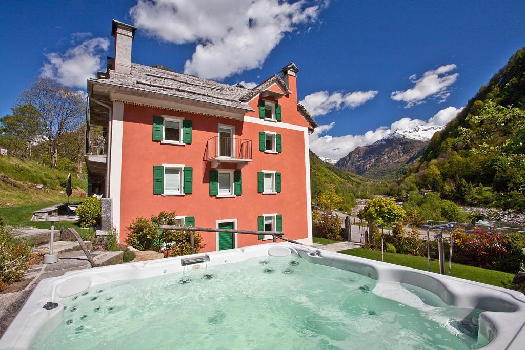 Apartment Casa Rossa Brione Switzerland  Bookingcom