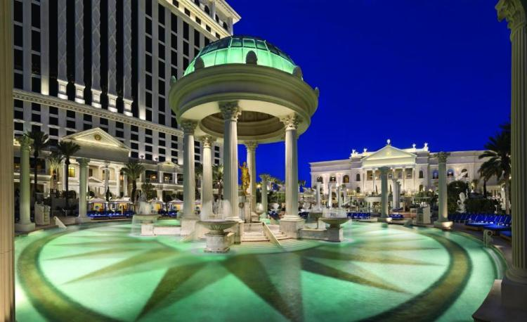 Лас-Вегас отель Цезарь Палас