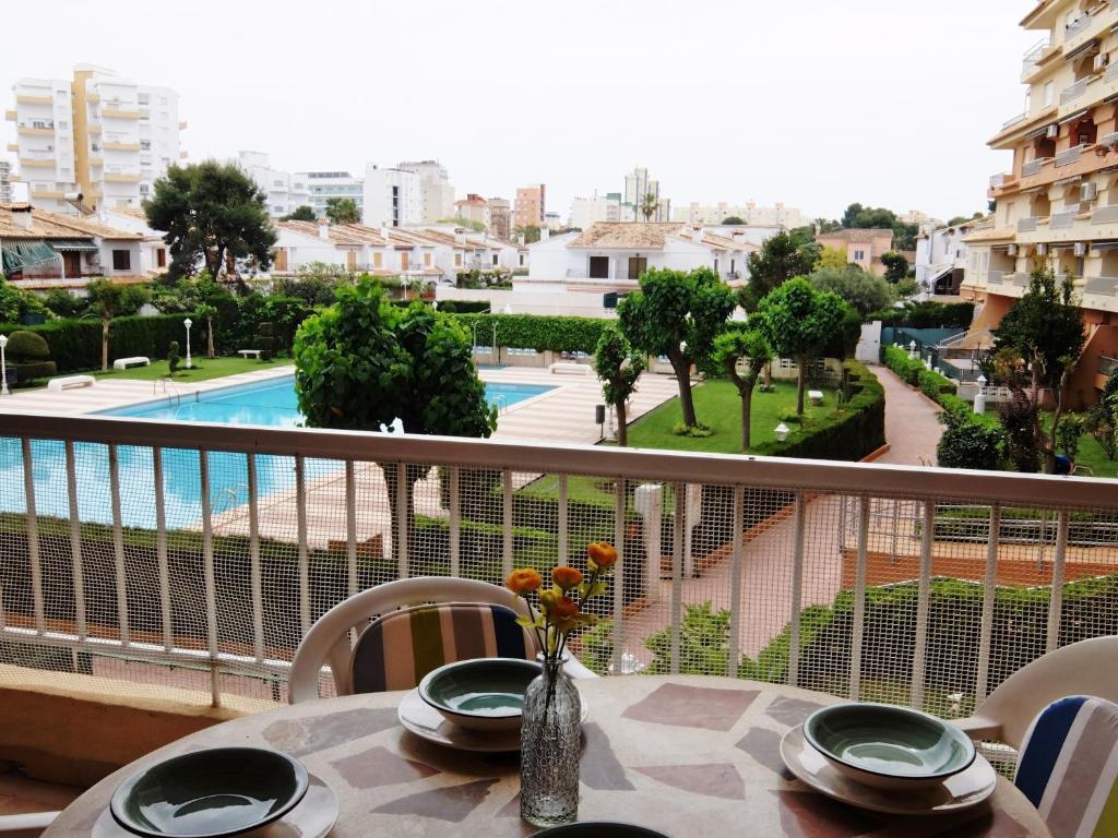 LOS IRIS PLAYA DE GANDIA Apartamento Familiar Playa de