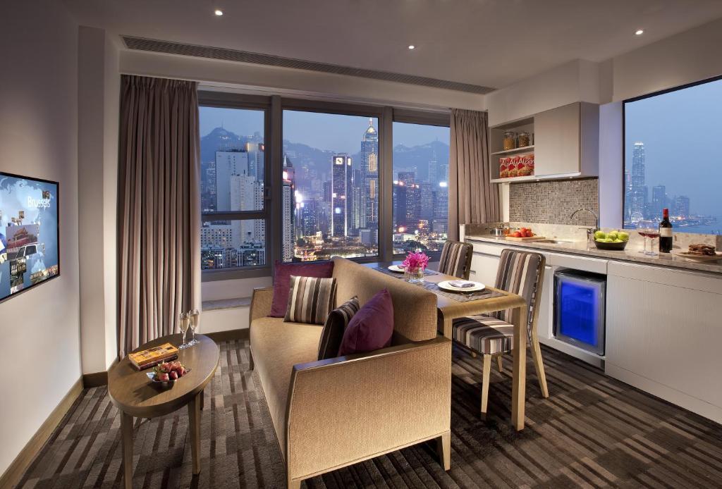 hotel with kitchen hong kong design ideas for small galley kitchens 香港盛捷維園公寓酒店 香港香港 booking com 住宿相片集