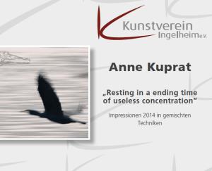 Anne Kuprat Ausstellung 18.01.2015