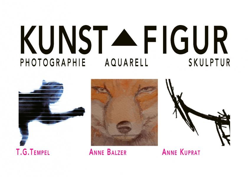 Kunstfigur – Photographie, Aquarell, Skulptur