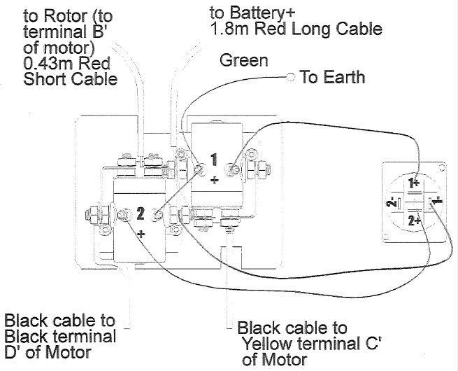 t max 9000 winch wiring diagram citroen c5 2004 diagrams battery connection