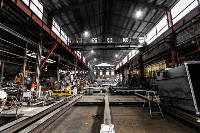集塵機、ダクトの製造、ダイコク工業株式会社様の撮影