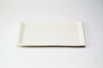 W-9 白釉鮎皿