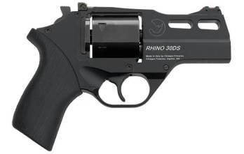 CHIAPPA RHINO 3″ 30DS Revolver | Black | .357 Magnum/.38 Special (340.289)