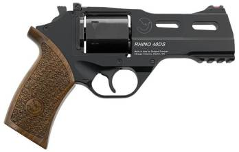 CHIAPPA RHINO 4″ 40DS Revolver | Black | 9mm (340.165)