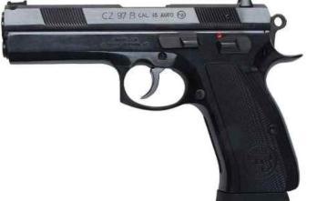 CZ 97B | Black | 45acp | 10rd (01411)