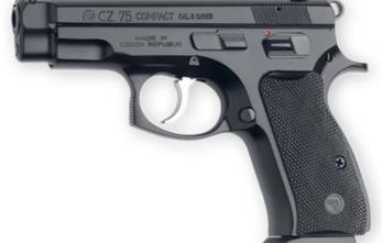 CZ 75C COMPACT | Black | 9mm | 10rd (01190)