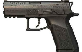 CZ P-07 | Black Polymer | 9mm | 15rd (CZ91086)