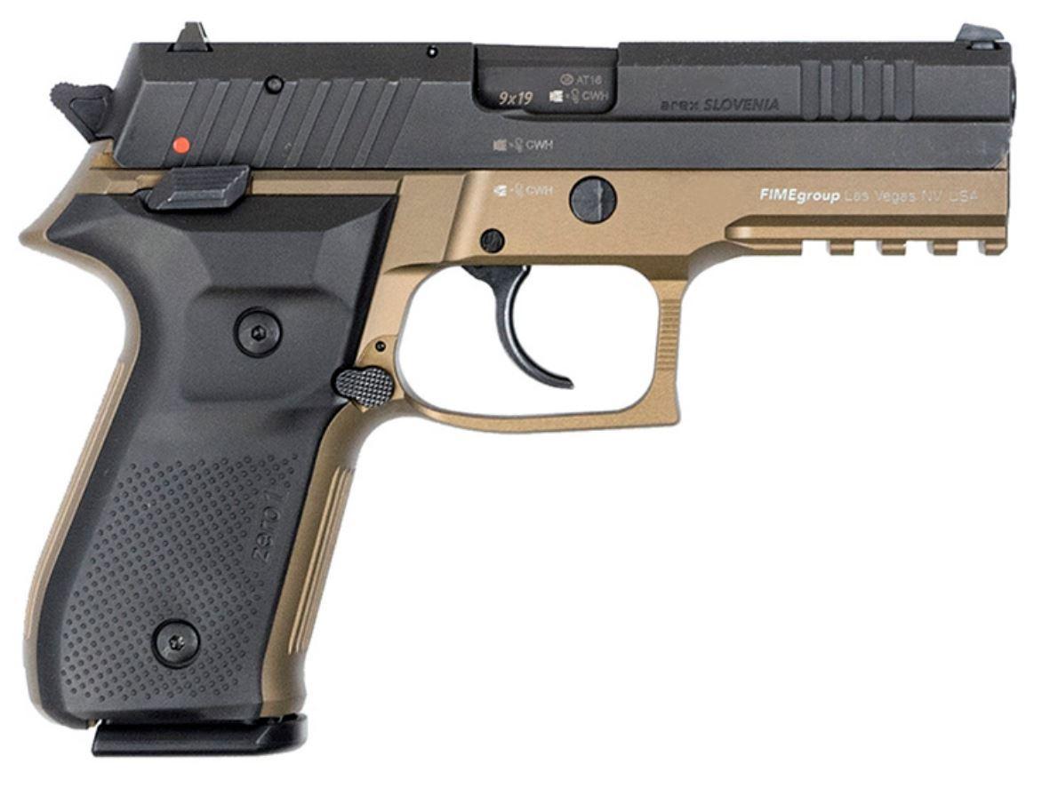 Rex Zero 1S in FDE (REXZERO1S-03)   T-Rex Small Arms