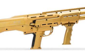 Gold DP-12 Double Barrel Pump Shotgun