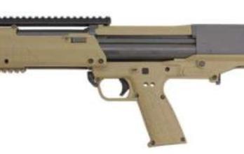 Kel-Tec KSG 12ga Shotgun (KTKSGTAN) KSG 12/18.5 14+1 PIC RAIL TAN TAN SYNTHETIC STOCK 12 Gauge