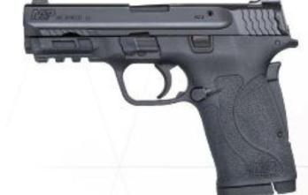 S&W (180023) M&P380 SHIELD EZ 380ACP AS 180023 | M&P2.0 | 3.7″ | 8+1 380 ACP NO THUMB SAFETY
