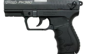 Walther – (5050308) PK380 380ACP 8+1 BLACK 3.6″