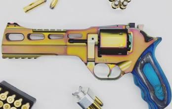 "CHIAPPA RHINO 6″ 60DS NEBULA Revolver |  Mix Color ""PVD"" | .357 Magnum/.38 Special (340.301) **NEW!**"