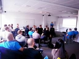 @vestergaardj presenting at #sqlsat196