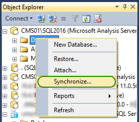 Synchronize Database