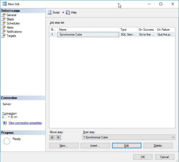 SQL Agent Job Step Details