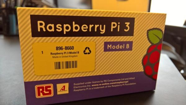 Raspberry Pi 3 - Package