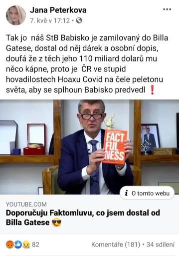 Jana Peterková a HATE na premiéra ČR Babiše 2