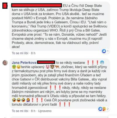 Jana Peterková a HATE na vládu 7